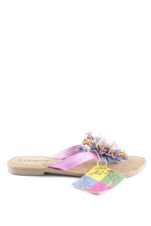 Lazamani Flip Flop Sandalen mehrfarbig Boho-Look