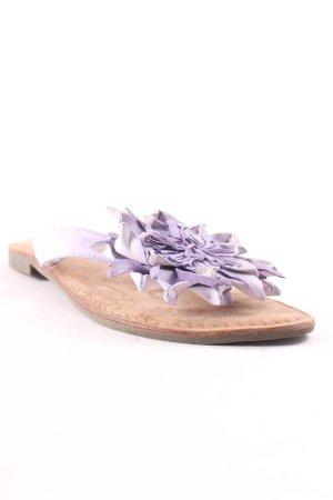 Lazamani Flip Flop Sandalen mehrfarbig Romantik-Look