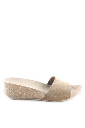 Lazamani Flip Flop Sandalen taupe Boho-Look