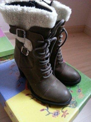 Lazamani Markenstiefel Boots Bootie Herbststiefel 38 Neu