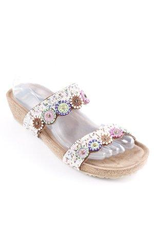Lazamani Outdoor Sandals grey brown-white Boho look
