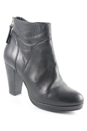 Lazamani Reißverschluss-Stiefeletten schwarz Elegant