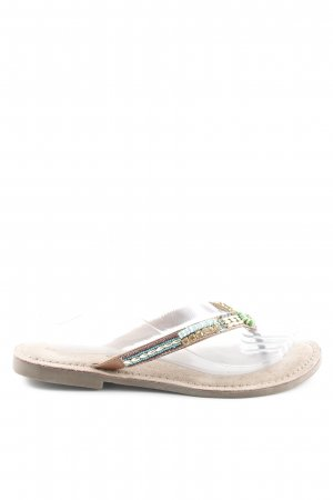 Lazamani High-Heeled Toe-Post Sandals multicolored casual look