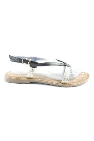 Lazamani Zehentrenner-Sandalen mehrfarbig schlichter Stil