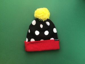 Lazy Oaf Pompom Pattern Hat