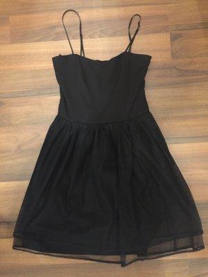 Mango Suit Corsage Dress black