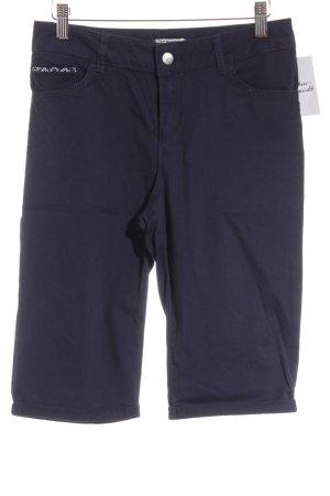 LC WAIKI Pantalón corto de talle alto azul acero look casual
