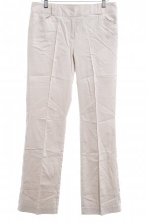 LC Waikiki Pleated Trousers cream business style