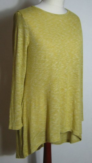 LC Waikiki Long Shirt dark yellow cotton