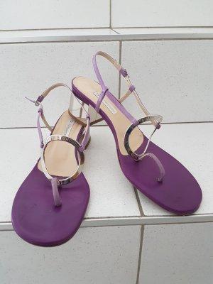 Autre Chose Sandalias color plata-lila
