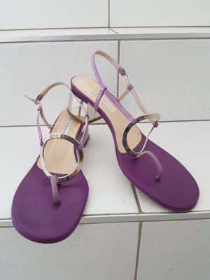 Autre Chose Sandals silver-colored-lilac