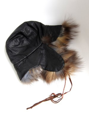 Fur Hat black-brown pelt