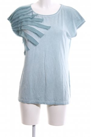 Le Comte Oversized Shirt blue casual look