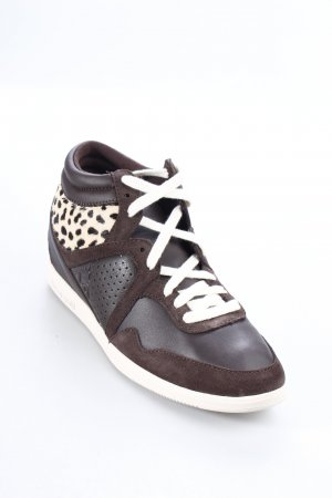 Le coq sportif High Top Sneaker Animalmuster Casual-Look
