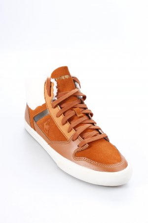 Le coq sportif High Top Sneaker rostrot-wollweiß Casual-Look