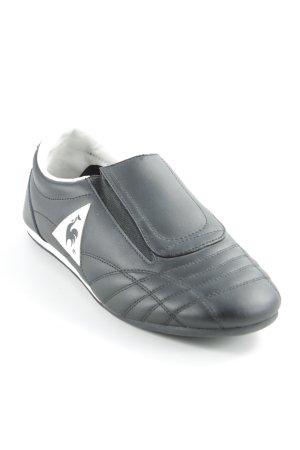 Le coq sportif Schlüpfsneaker schwarz-weiß sportlicher Stil