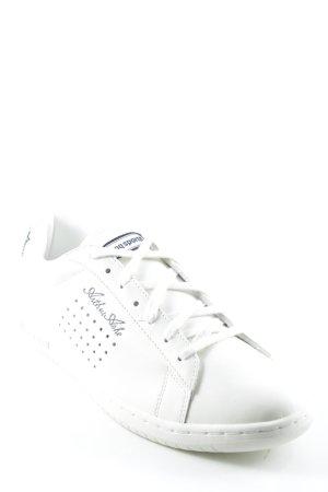 Le coq sportif Lace Shoes cream-dark blue casual look