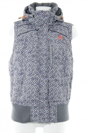 Le coq sportif Quilted Gilet multicolored simple style
