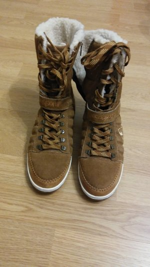 Le coq sportif Slouch Boots light brown