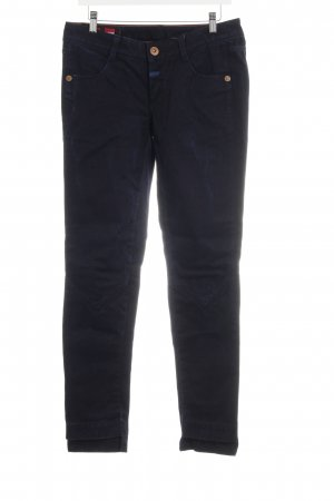 Le Jean De Marithé + Francois Girbaud Slim jeans donkerblauw casual uitstraling
