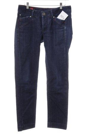 Le Jean De Marithé + Francois Girbaud Slim Jeans dunkelblau-rot Casual-Look