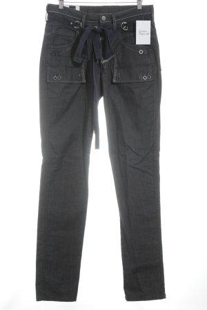 Le Jean De Marithé + Francois Girbaud Straight-Leg Jeans dunkelblau Casual-Look