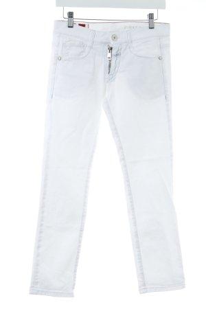 Le Jean De Marithé + Francois Girbaud Straight-Leg Jeans weiß-wollweiß