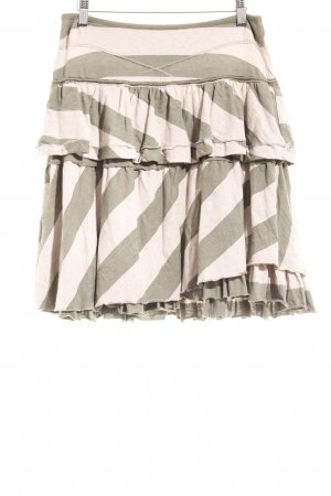 Le Jean De Marithé + Francois Girbaud Broomstick Skirt light grey-green grey