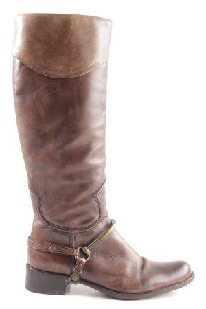 Le Pepe Botas de equitación marrón look casual