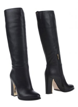 Le Silla High Heel Boots black leather
