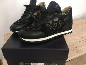 Le Silla Heel Sneakers black