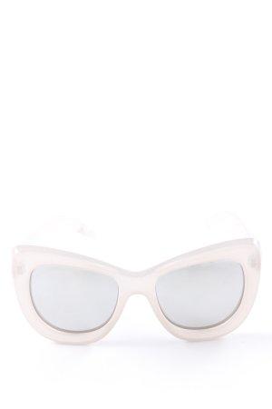 Le Specs Butterfly Brille rosé extravaganter Stil