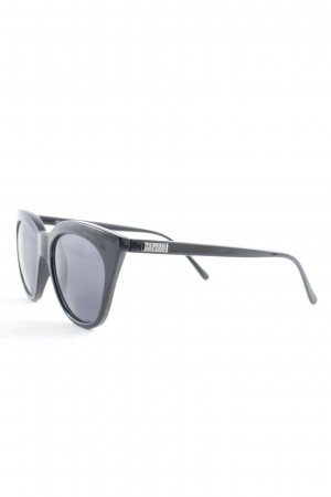 Le Specs Butterfly Brille schwarz Casual-Look