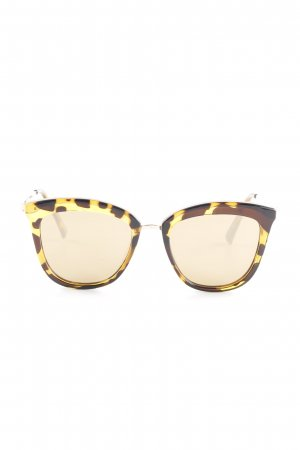 Le Specs Butterfly Brille Tortoisemuster Casual-Look