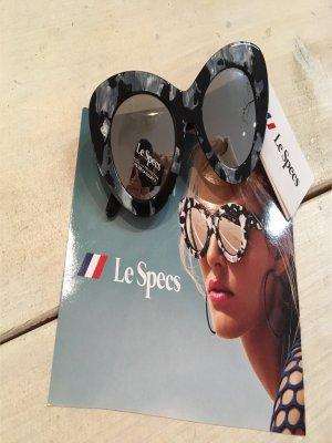 Le specs grau schwarz verspielt neu