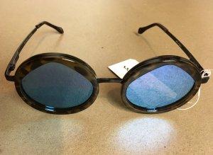 * LE SPECS * NEU ! verspiegelte runde Sonnenbrille im Miu Stil