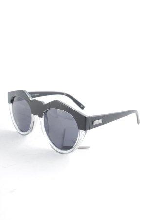 "Le Specs Occhiale da sole ovale ""Neo Noir"""