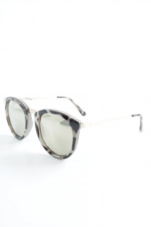 Le Specs Retro Glasses tortoise pattern casual look
