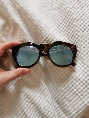 Le Specs Lunettes retro multicolore