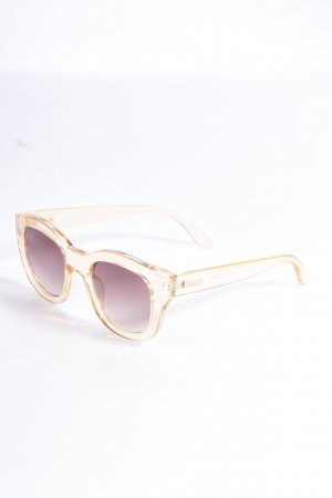 Le Specs Sonnenbrille hellorange-transparent