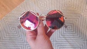 Le Specs Sonnenbrille Wildchild Rund Round Mirror Polarized Verspiegelt