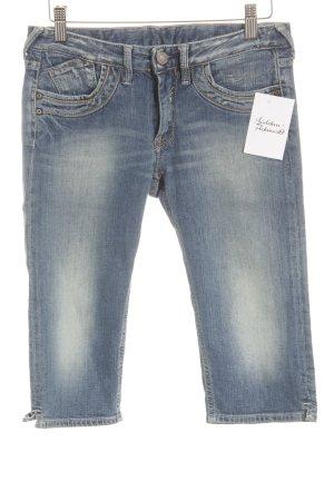 Le Temps des Cerises 3/4 Jeans blau Jeans-Optik