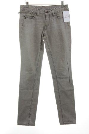 Le Temps des Cerises Skinny Jeans graugrün Urban-Look