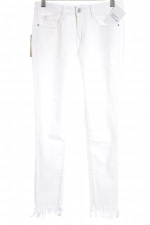 Le Temps des Cerises Skinny Jeans weiß Casual-Look