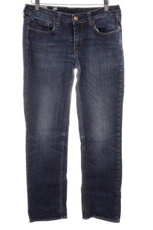 Le Temps des Cerises Straight-Leg Jeans dunkelblau Casual-Look