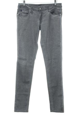 Le Temps des Cerises Stretch Jeans grau Bleached-Optik