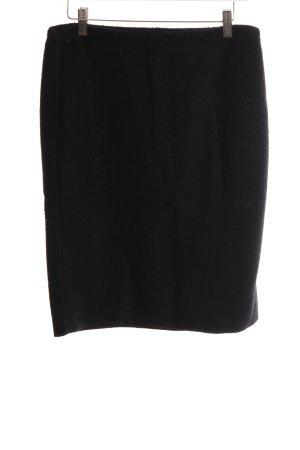 Le Tricot Longhin High Waist Skirt black casual look