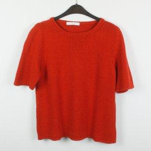 Le Tricot Longhin Camisa tejida rojo tejido mezclado