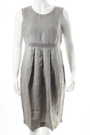 Le Tricot Perugia Robe fourreau gris style classique