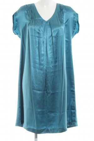 Le trou d'aiguille Vestido strapless azul look casual